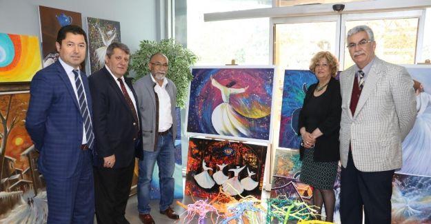 'Hasan Mucay'ın 105 Semazen Figürü' sergisi açıldı