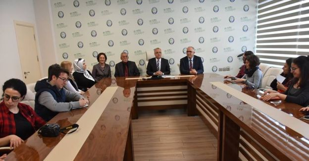 ODTÜ'den panel öncesi Başkan Kayda'ya ziyaret