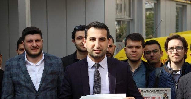 Okuması için Kılıçdaroğlu'na 'Evet' broşürü gönderdiler