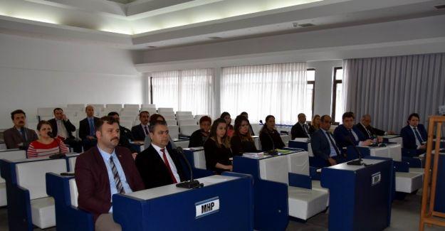 Salihli'de belediye personeline hizmet içi eğitim