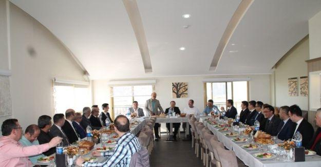 Sarıgöl ve Alaşehir'in ekonomisi masaya yatırıldı