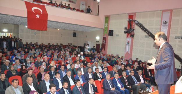 Saruhanlı'da Cumhurbaşkanlığı Hükümet Sistemi anlatıldı