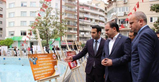 AK Parti'li gençler 18 maddeyi sergiyle anlattı