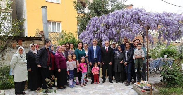 Başkan Şirin, mahallelinin konuğu oldu