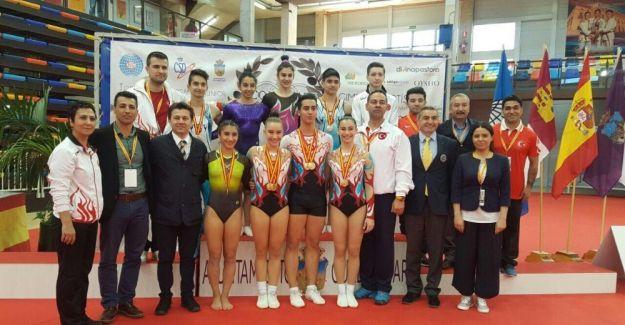 Cimnastiğin altın kızı İspanya'dan 3 altınla dönüyor