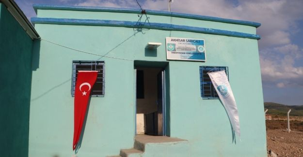 Manisa'da 190 mahallenin içmesuyu deposu yenilendi