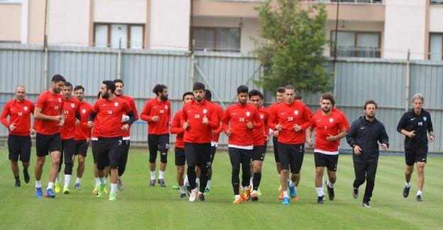 Manisaspor'da Samsunspor maçı hazırlıkları