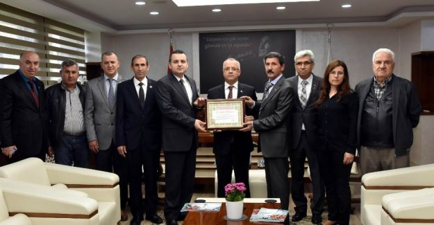 Şehit ve Gaziler Derneği'nden Başkan Kayda'ya teşekkür