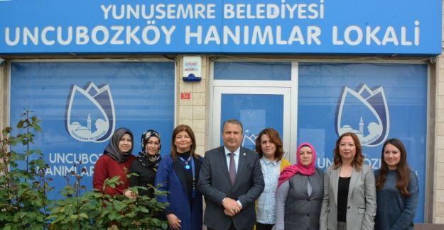 Uncubozköylü hanımlar Başkan Çerçi'yi ağırladı