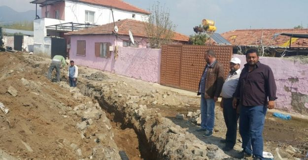 Vatandaşların kanalizasyon sıkıntısı son buldu