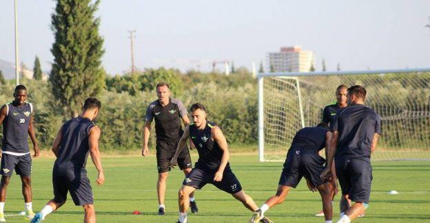 Akhisar Belediyespor'da Bursaspor maçı hazırlıkları başladı