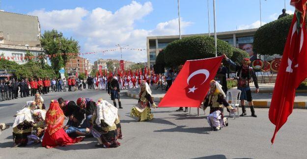 Akhisar'ın kurtuluşunun 95. yıl dönümü kutlamaları