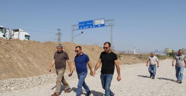 Alaşehir'deki çalışmalar yerinde incelendi