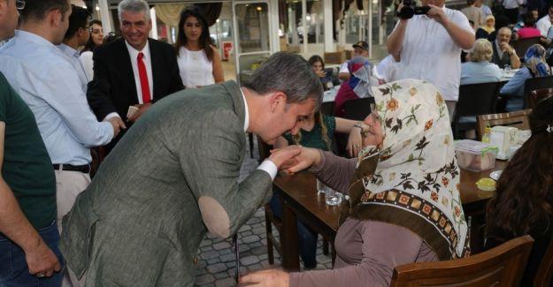 Başkan Şirin şehit ve gazi aileleriyle bir araya geldi