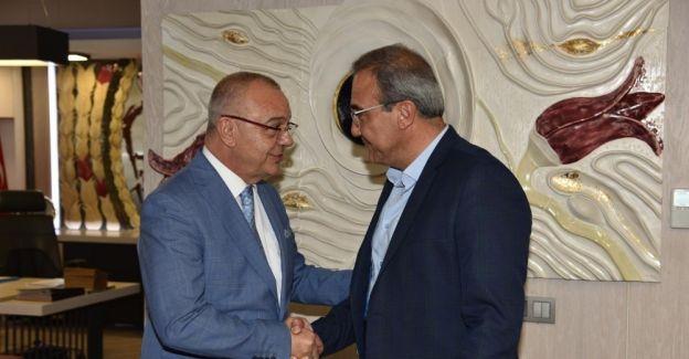 Başkanlar Alaşehir yatırımlarını görüştü
