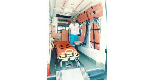 Büyükşehirin ambulans hizmeti vatandaşı sevindirdi