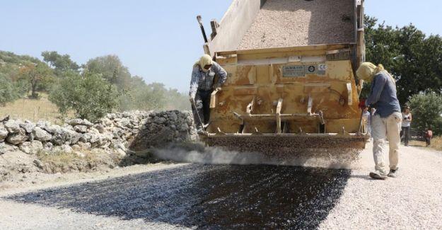 Demirci'de 25 kilometrelik yol asfalta kavuşuyor