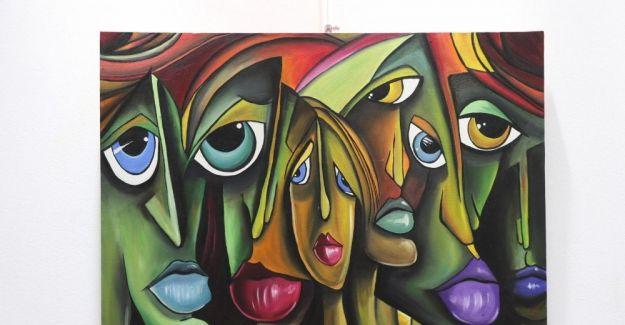 Genç ressamlardan Picasso esintileri