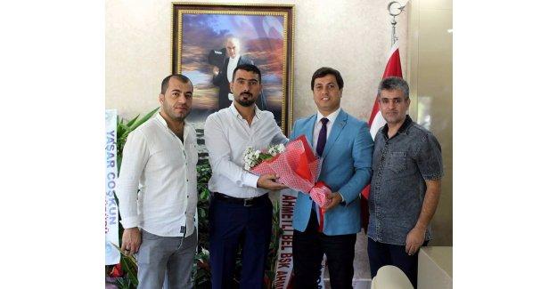 İl Müdürü Öztürk, Horozköyspor yönetimini ağırladı