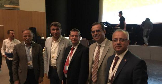 Jeopark Belediyeler Birliği Portekiz'de konferansa katıldı