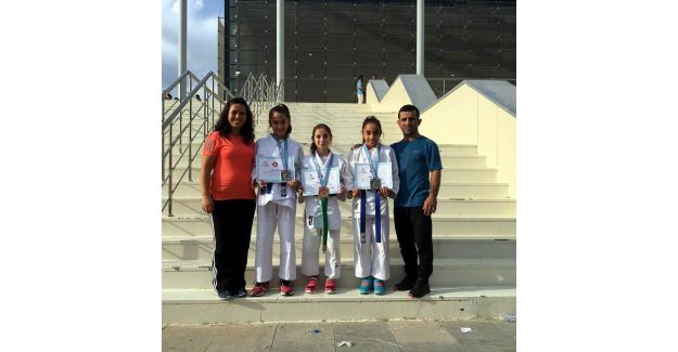 Judocu kuzenler Türkiye ikincisi oldu
