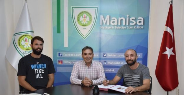 Manisa BBSK'de potada yeni transfer