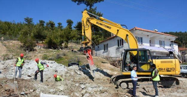 MASKİ'den Gördes'in 8 mahallesine 18 milyonluk yatırım