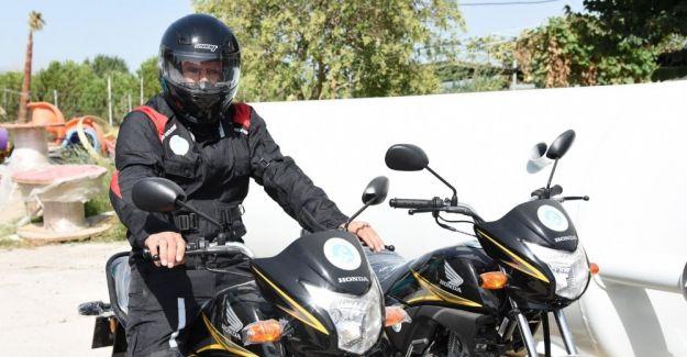 MASKİ'den ilçelerde daha hızlı hizmet için 40 adet motosiklet
