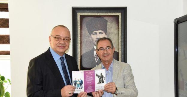 MESOB Başkanı Geriter'den Başkan Ergün'e davet