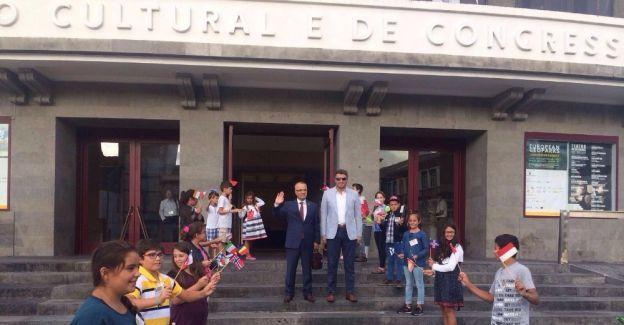 Portekiz'deki Jeoparklar konferansına katıldılar