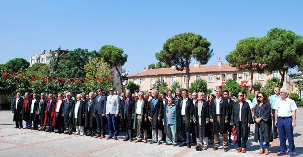 Salihli'de adli yıl törenle açıldı