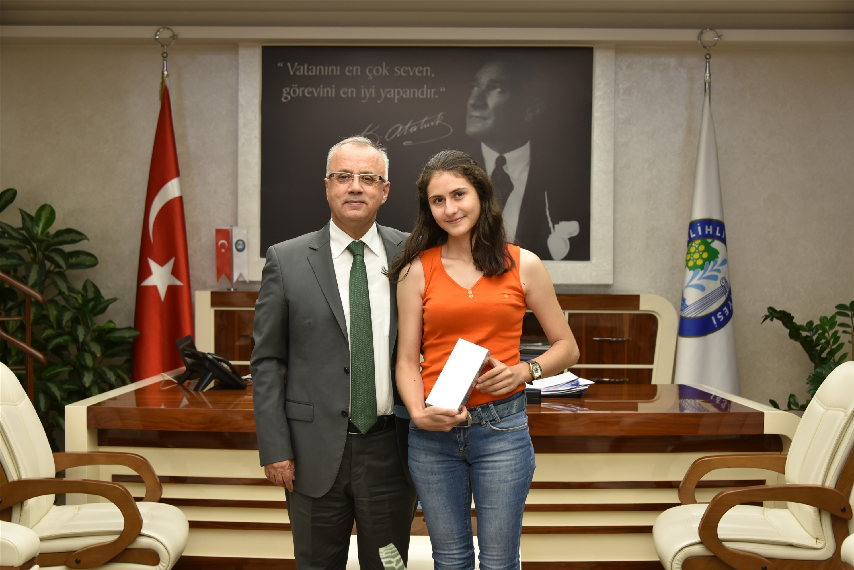 Salihli'ye Fakülte Kazandıran Başkan Zeki Kayda'ya Teşekkür Ziyareti