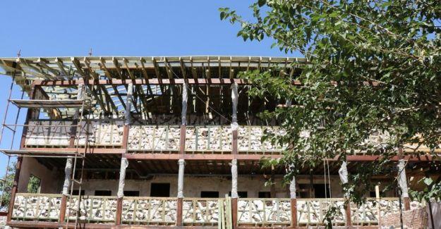 Tarihi Kula evleri restore ediliyor
