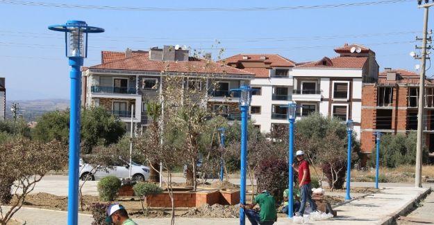 Turgutlu'nun yeni yaşam alanı ışıl ışıl oluyor