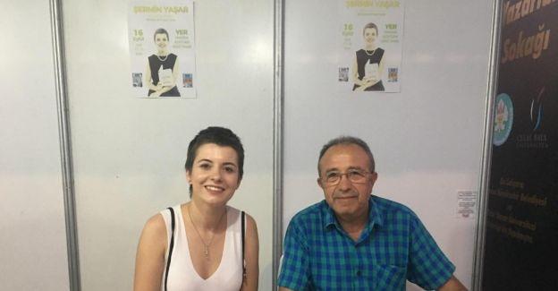 Yazar Şermin Yaşar, Manisalılarla buluştu