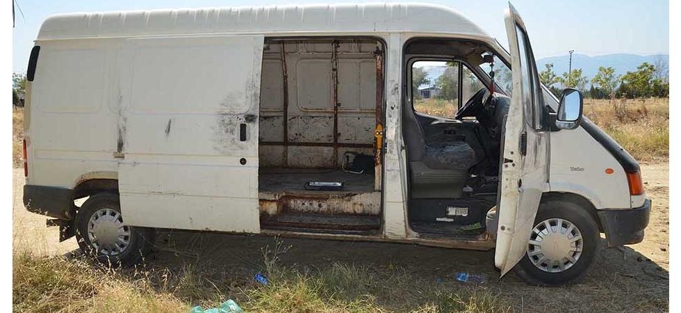 Jandarma çalınan aracı 24 saat geçmeden buldu