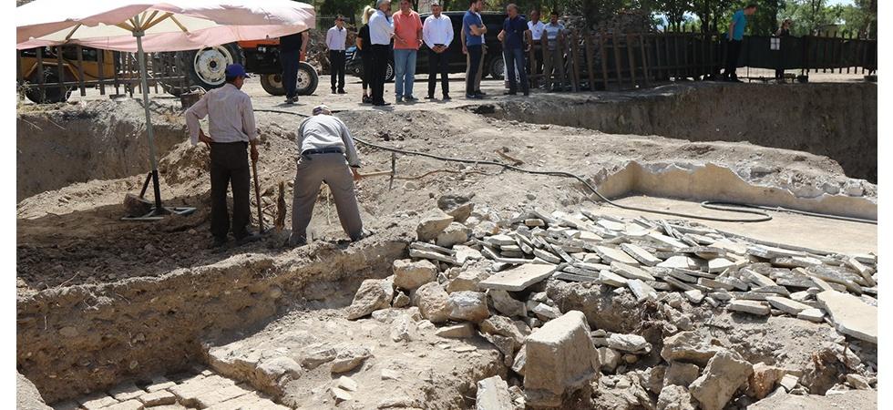 Manisa'da Kazı Çalışmalarında Önemli Noktaya Gelindi