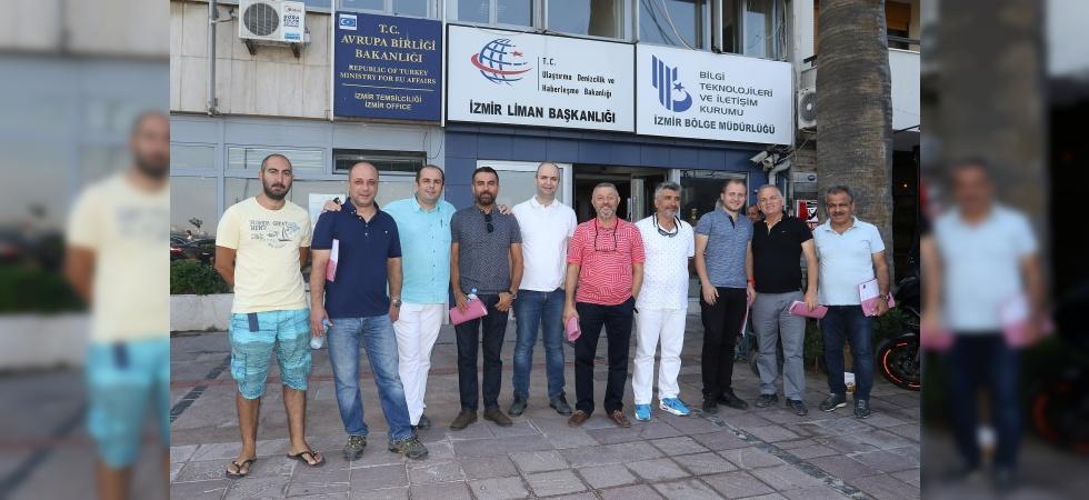 Manisa'da 'Amatör Denizci Belgesi'ne yoğun ilgi
