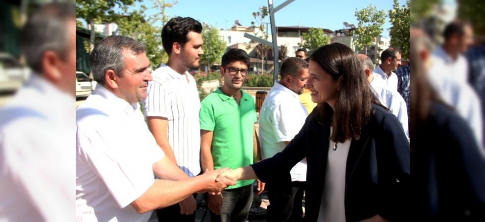 AK Parti Sarıgöl İlçe Teşkilatı bayramlaştı