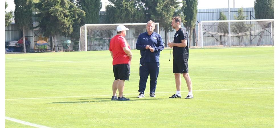 Akhisar Belediyespor'da Süper Kupa Maçı Hazırlıkları