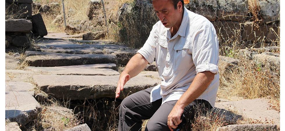 Antik kentteki 2 bin 800 yıllık su sistemi günümüze taş çıkartıyor