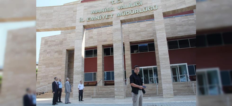Manisa İl Emniyet Müdürlüğü yeni hizmet binasına taşınacak