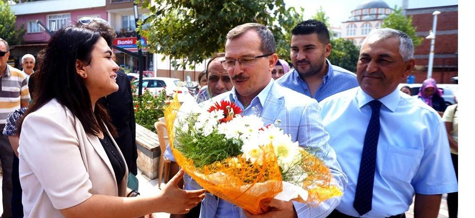"""AK Parti Milletvekili Aydemir:""""Biz birlik olursak kimse bu ülkeye boyun eğdiremez"""""""