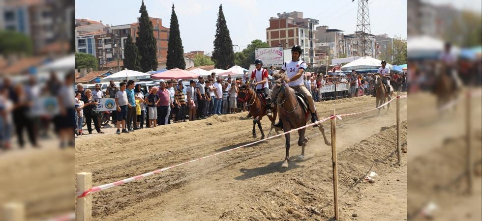 Turgutlu'da 'Rahvan At' heyecanı yaşandı