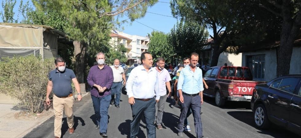 Başkan Dutlulu'dan mahalle ziyaretleri