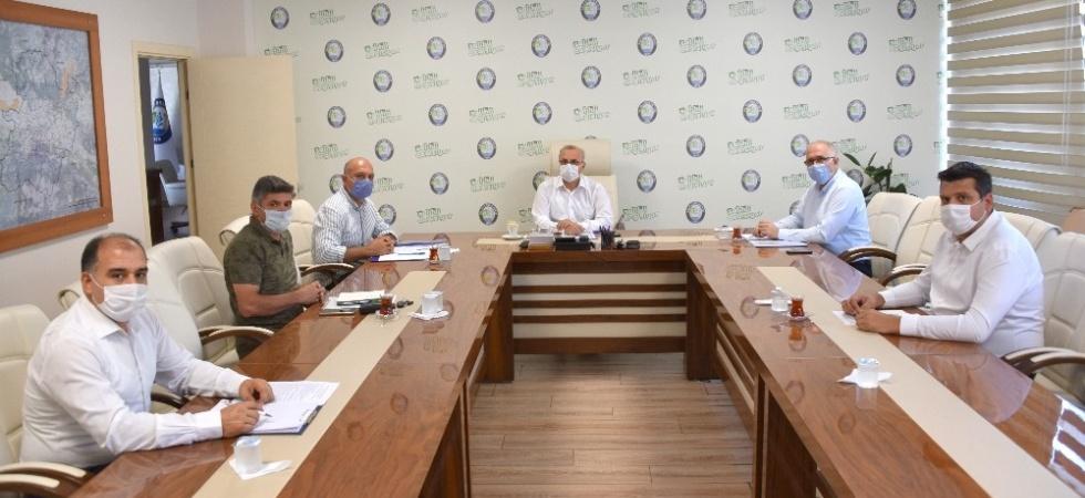 Başkan Kayda, sosyal belediyecilik projelerini değerlendirdi