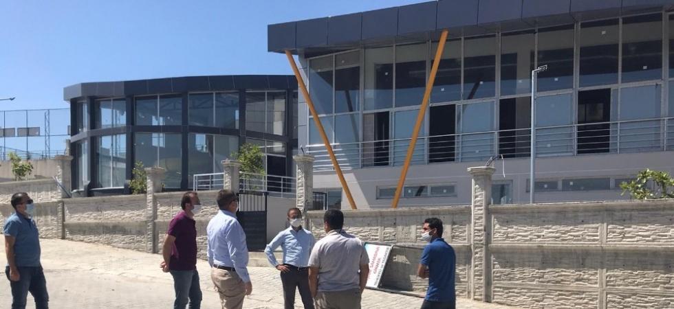 Gördes'e yapılan spor yatırımının inşaatı tamamlandı