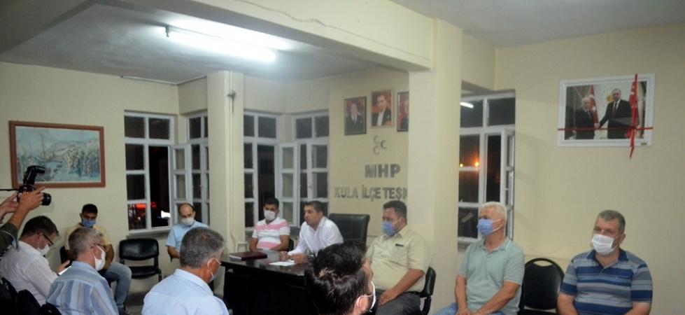 Kula MHP'de kongre tarihi belli oldu