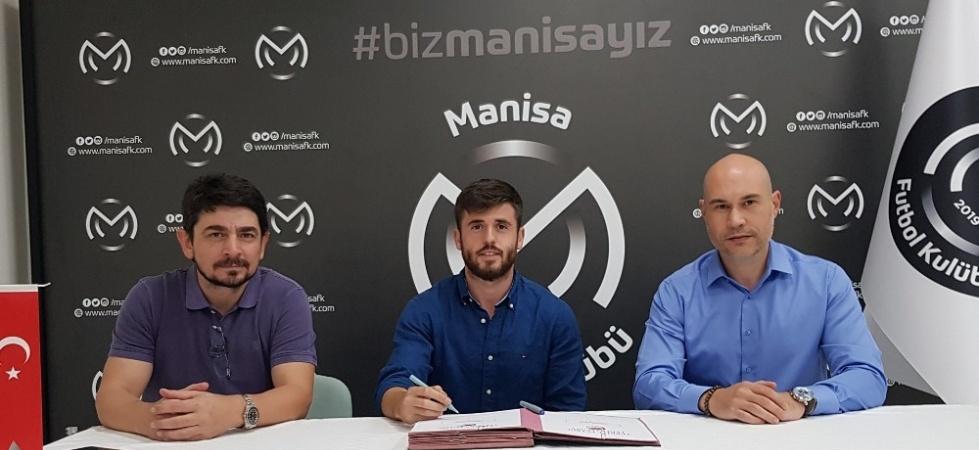 Manisa FK'da Mehmet Yılmaz'ın sözleşmesi 3 yıl daha uzatıldı