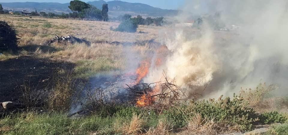 Manisa İtfaiyesi anız yangınlarına karşı uyardı